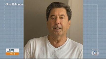 Morre Maguito Vilela, prefeito licenciado de Goiânia