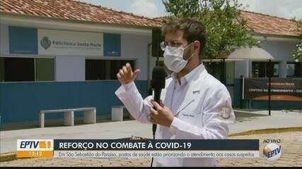 Postos de saúde estão priorizando casos suspeitos de Covid-19 em São Sebastião do Paraíso