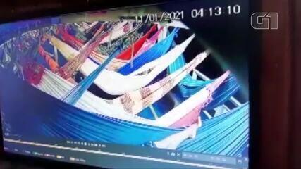 Câmera registra estudante sendo importunada sexualmente dentro embarcação no Pará