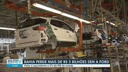 Bahia perde mais de R$ 5 bilhões com o fechamento da fábrica Ford