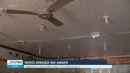 Novo apagão: desligamento no sistema elétrico deixou 13 dos 16 municípios do AP no escuro