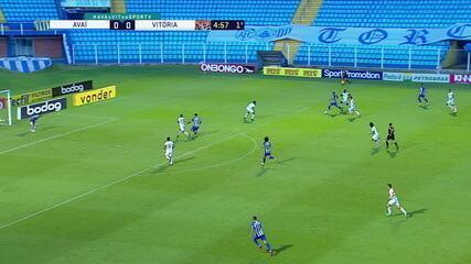 Melhores momentos: Avaí 2 x 2 Vitória, pela 34ª rodada do Brasileirão Série B