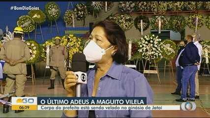 Irmã fala sobre a perda do prefeito Maguito Vilela