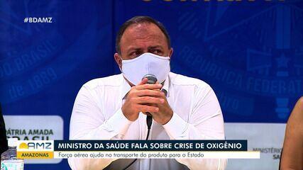 Manaus enfreta crise no abastecimento de oxigênio