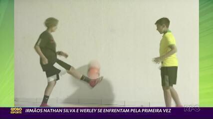 Vasco x Coritiba terá os irmãos Werley e Nathan Silva em lados opostos pela primeira vez