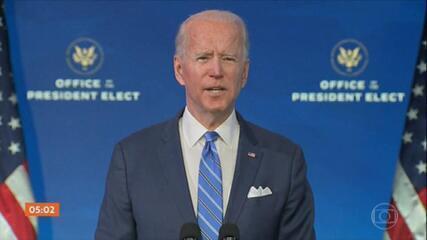 Joe Biden anuncia pacote econômico de quase US$ 2 trilhões