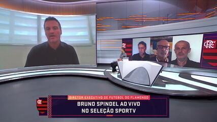 Bruno Spindel, diretor executivo de futebol, fala sobre expectativas do Flamengo para o fim da temporada