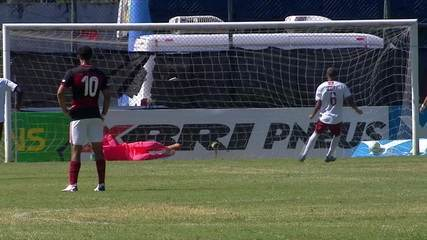Melhores momentos: Flamengo 1 x 6 Fluminense pelas semifinais da Copa do Brasil Sub-17