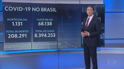 Brasil é o segundo país com mais mortes causadas pelo coronavírus