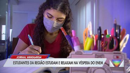 Quase 50 mil estudantes da região realizam prova do Enem neste domingo