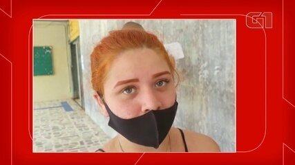 Após ser impedida de fazer prova, candidata diz que jovens fizeram lista de presença