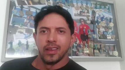 Hexacampeão mundial de paracanoagem, Luís Carlos Cardoso, lamenta morte de João Tomasini