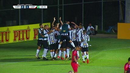 Os gols de Atlético-MG 2x1 Athletico, pela final do Brasileirão Sub-20