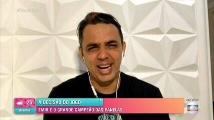 Voto do público define Emir como campeão do 'Jogo de Panelas Rio de Janeiro'