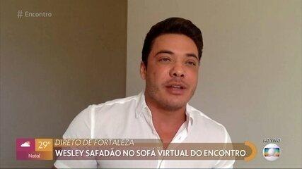 Wesley Safadão comemora sucesso da música 'Ele é Ele, Eu sou Eu'