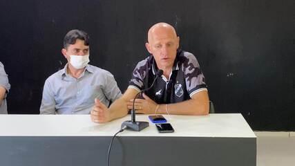 Sílvio Criciúma vibra com permanência de Wallyson no ABC