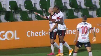 Melhores momentos de Goiás 0 x 3 Flamengo pela 30ª rodada do Brasileirão