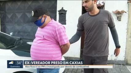 Ex-vereador é preso por desvio de combustível em Duque de Caxias