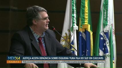 Justiça aceita denúncia de esquema 'fura fila no SUS' contra quatro vereadores de Cascavel