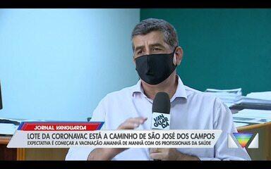 São José confirma início de vacinação contra Covid nesta quarta com 11 mil doses