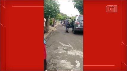 Família alega agressão da PM durante abordagem neste sábado (16) em Bauru