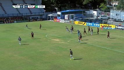 Melhores momentos de Fluminense 3 x 0 Flamengo pela semifinal da Copa do Brasil Sub-17
