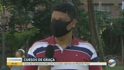 Casa da Cidadania abre inscrições para cursos gratuitos em Ribeirão Preto