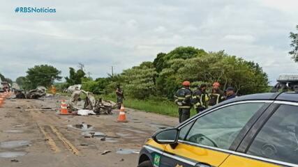Acidente deixa um morto e um ferido na BR-158, em Itaara