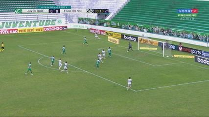 Gol do Figueirense! Erison abre o placar aos 39' do 2T