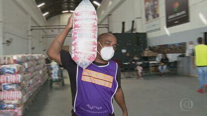 Grupos que ajudam comunidades mais pobres registraram queda no número de doações