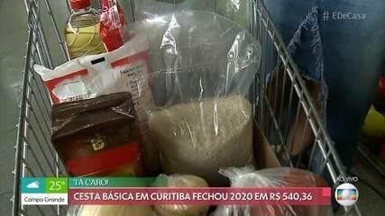 Confira o valor da cesta básica em diferentes cidades do Brasil