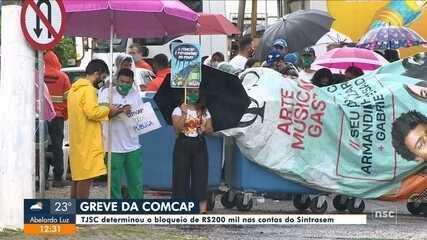 Impasse entre Prefeitura de Florianópolis e trabalhadores da Comcap continua