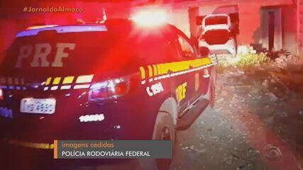 Caminhoneiros que haviam sido sequestrados são resgatados após perseguição no RS, diz PRF