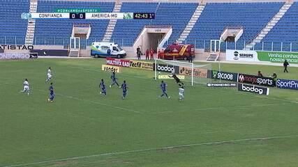 Melhores momentos de Confiança 0 x 0 América-MG, pela 37ª rodada da Série B do Campeonato Brasileiro