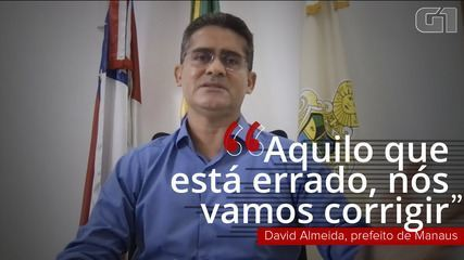 VÍDEO: prefeito de Manaus diz que vai corrigir o que estiver errado na fila de vacinação