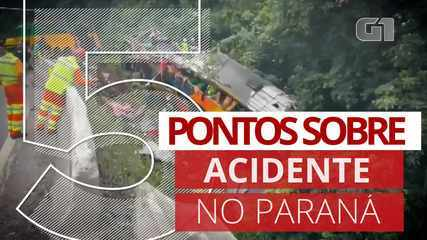 5 pontos sobre o acidente no Paraná