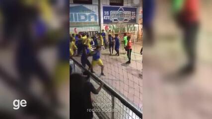 Pancadaria é registrada em decisão de competição em Altamira