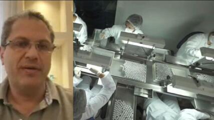 Secretário estadual de Saúde de São Paulo, Jean Gorynchteyn, fala da vacinação na capital