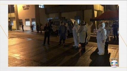 Pacientes com Covid-19 são transferidos de Rondônia para o Paraná