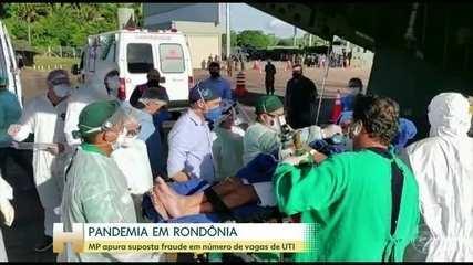 MP de Rondônia vai investigar se o governo do estado fraudou relatório com vagas de UTI