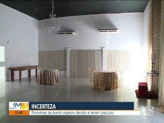 Incerteza sobre a realização de eventos preocupa empresas e casas de show em São Luís