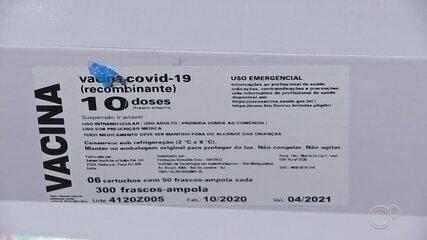 Distribuição da vacina de Oxford começa nesta quarta-feira na região de Sorocaba