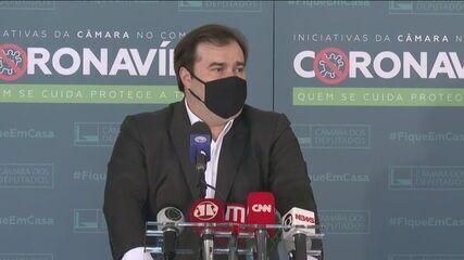 Maia: Bolsonaro quer transformar o parlamento em um anexo do Planalto