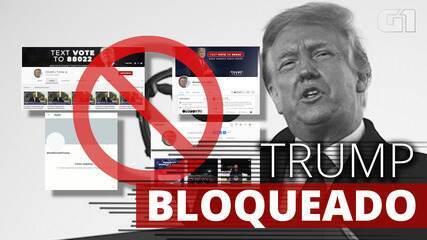Facebook, Instagram, YouTube: Trump é bloqueado pelas redes sociais