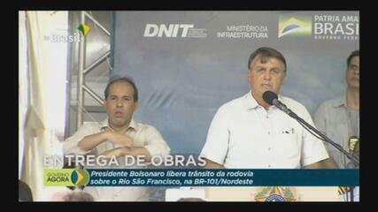 VÍDEO: 'Se ministro meu for elogiado pela mídia, ele corre o risco de ser demitido', diz Bolsonaro