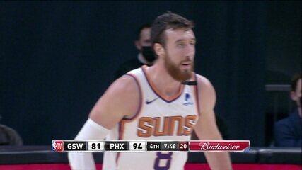 Melhores momentos de Golden State Warriors 93 x 114 Phoenix Suns pela NBA