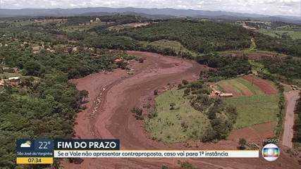 Vale tem até hoje para apresentar uma contraproposta ao governo pelas perdas em Brumadinho