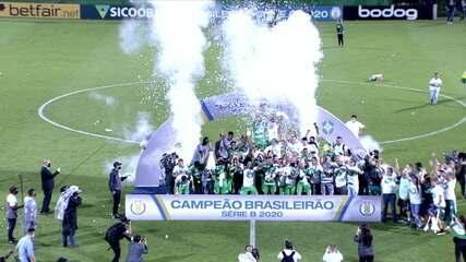 Melhores momentos: Chapecoense 3 x 1 Confiança, pela 38ª rodada do Brasileirão Série B