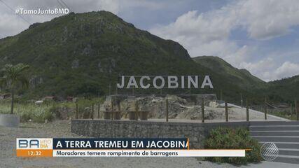 Tremores de terra assustam moradores de Jacobina, no norte da Bahia