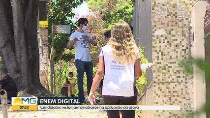 Primeiro dia de Enem digital registra problemas em Minas Gerais